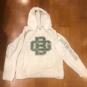Green Bay Packer lt weight hoodie